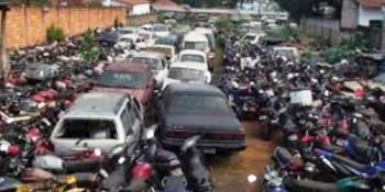 Começa hoje a vistoria de veículos apreendidos para o 2 leilão em Uberaba