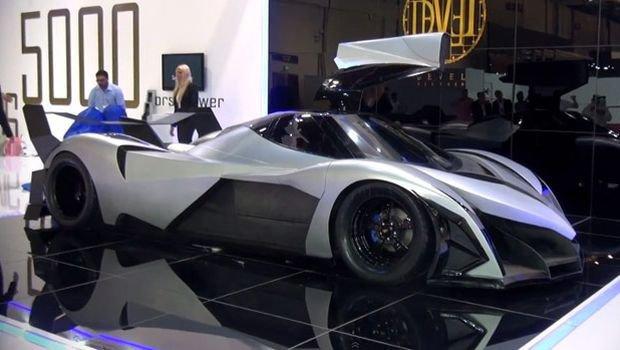 Veículo de 5.000 cv é apresentado em Dubai