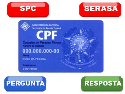 Restrição do CPF, como saber?