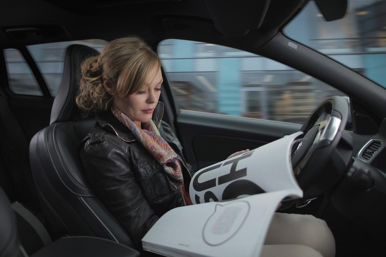 Volvo inicia sua segunda fase de tese de carro sem motorista