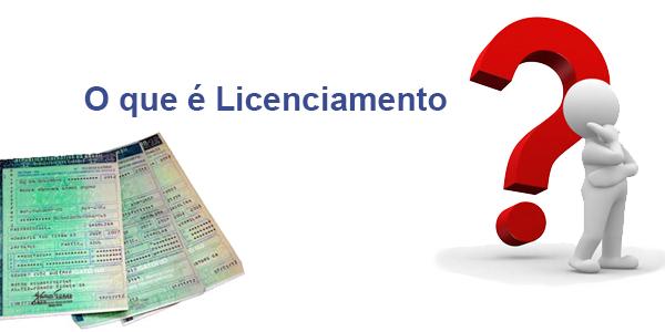 O que é licenciamento de veículo ?