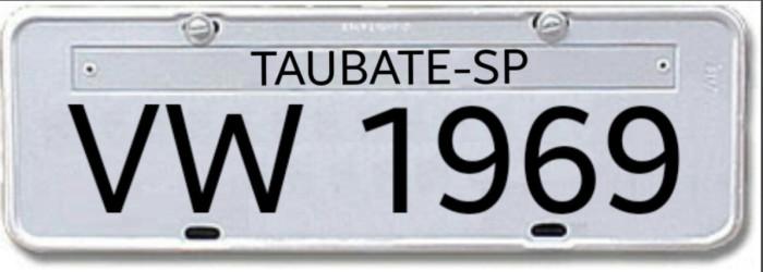 Donos de veículos poderão escolher a numeração de placa em SP