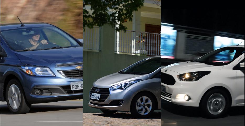 Os 15 carros mais vendidos do Brasil em maio/2016